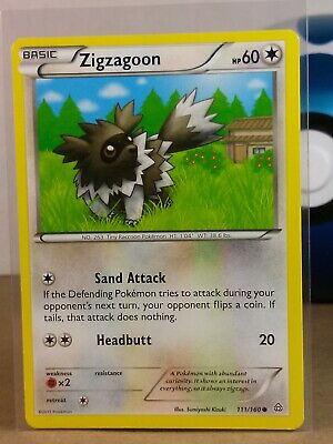 SWSH01-117 Pokemon Sword /& Shield Card # 117 4x Galarian Zigzagoon C