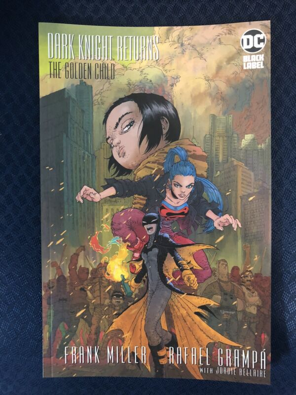 DARK KNIGHT RETURNS THE GOLDEN CHILD #1 Cover A 1st Print DC 2019 NM+