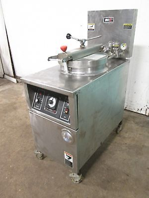 B.k.i - Lpf-f48 Hd Commercial Large Capacity 208v 3ph Electric Pressure Fryer