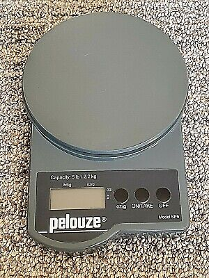 Pelouze Electronic Postal Scale - Model Sp5 - 5 Lb2.2 Kg Capacity