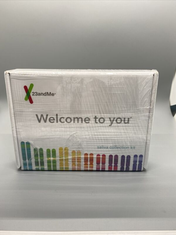 Brand New 23 And Me Ancestry Saliva Collection Kit Exp. 2022-04-30 (Read Descr.)