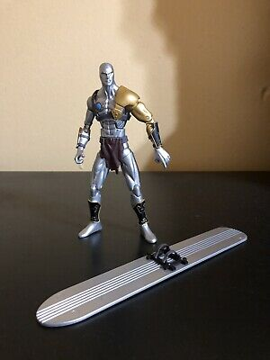 "MARVEL LEGENDS 6"" SAVAGE SILVER SURFER READ DESCRIPTION"