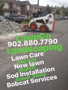 LawnCo Landscaping  902.880.7790 Reliable.Affordable. Efficient