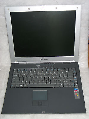 """Gateway 450ROG 15"""" Notebook Laptop with charger. As is. Good Physical Shape"""