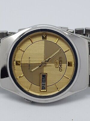 VINTAGE SEIKO 7009-6907 AUTOMATIC DAY/DATE 17JEWELS JAPAN MADE MEN'S WATCH