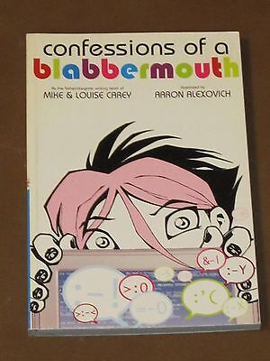 Confessions Of A Blabbermouth Gn Nm Dc Teen Blogger Family Mystery Young Adult