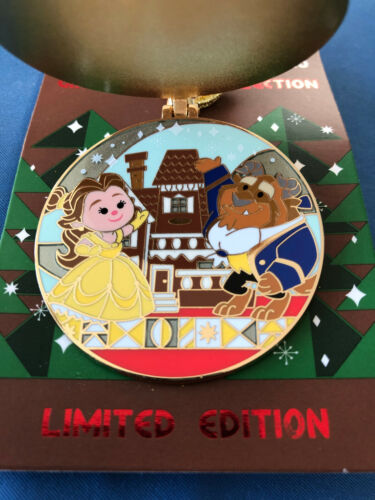 BEAUTY BEAST Disney Pin GRAND FLORIDIAN GINGERBREAD 2020 Limited E New Card