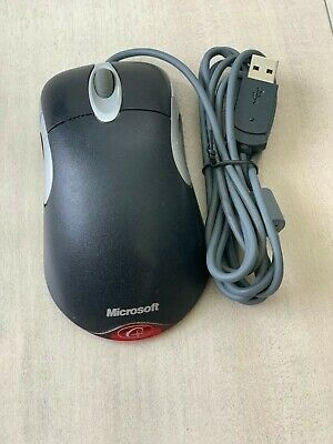 Microsoft IntelliMouse Optical 1.1A USB and PS/2 Compatible Black Color