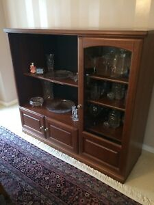 Wooden hutch/Display cabinet