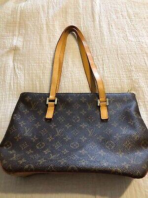 Authentic Louis Vuitton Cabas Piano Tote Monogram Handbag
