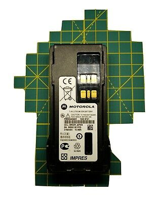 Oem Motorola Impres Genuine Battery Li Ion Pmnn4409ar With Belt Clip