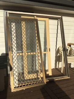 Timber sliding door & timber door in Warragul 3820 VIC | Building Materials | Gumtree ...