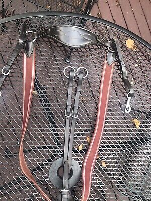 HERITAGE English Hunt Hunting Lunging Breastplate Running Martingale Attachment