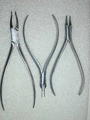 A Lot Of 9 Assorted Orthodontic Pliers Lot 3