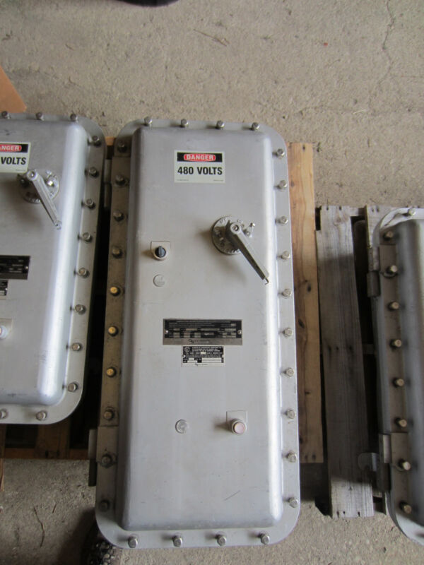 Nelson 7ma4rg-n6 Size 4 Explosion Proof  Combination Starter 480 Volt
