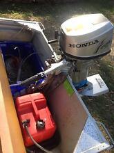 3.96 aluminium tinny with Honda 8hp Kilaben Bay Lake Macquarie Area Preview