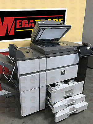 Sharp Mx 6240 Color Laser Multifunction Printer Scanner Copier Duplex Fn19