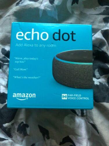 Amazon Echo Dot Smart Speaker 3rd Generation Charcoal