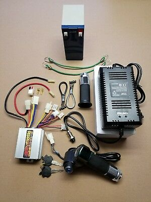 razor pocket mod - throttle,controller - performance kit 36v over volt-  complete
