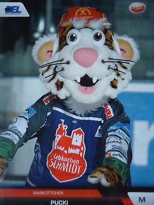 122 Maskottchen Pucki Nürnberg Ice Tigers DEL 2008-09