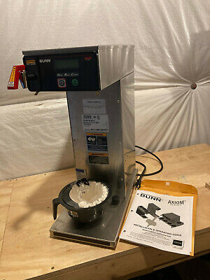 Bunn Axiom Single Airpot Brewer Part Number 38700.0010 Gently Used Demo Unit