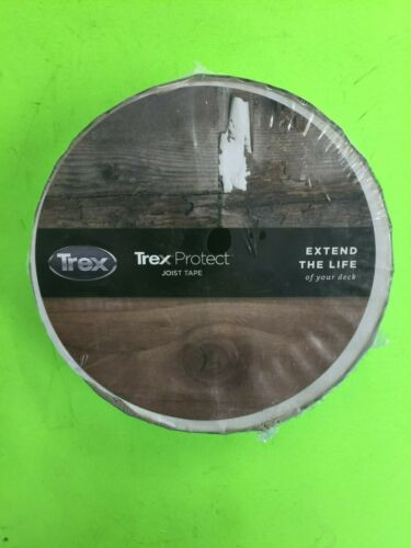 TREX PROTECT DECK JOIST TAPE 1-5/8 IN X 50 FT.  SELF ADHESIVE BUTYL TAPE
