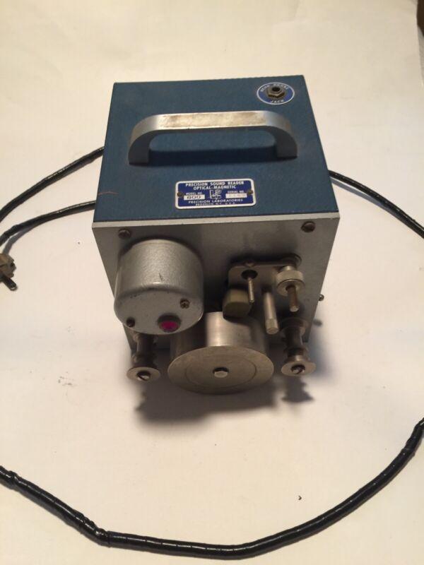 precision laboratories model 800 film sound reader editing soundtrack [2*II-3.5]