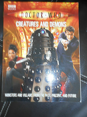 DOCTOR WHO THE BOOK OF 'CREATURES'    NEW