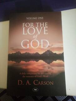 For the love of God by D. A. Carson Vol. 1