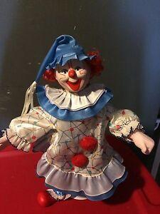 Heritage Mint Porcelain Clown