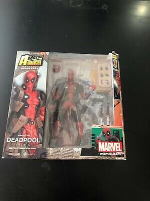 Deadpool --- Kaiyodo Revoltech Amazing Yamaguchi AUTHENTIC Action Figure No.001