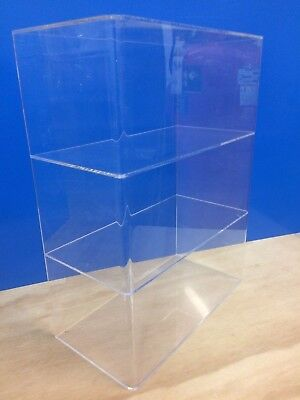 Ds-acrylic Lucite Countertop Display Showcase Cabinet 12 X 6 X 16h 2 Shelves