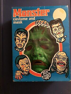 Vintage Ben Cooper Frankenstein Halloween Costume