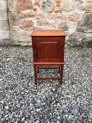 Vintage Walnut Bedside Cabinet / Pot Cupboard