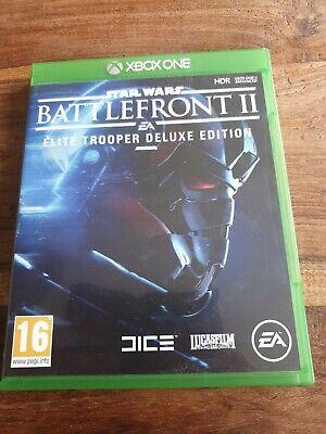 Star Wars Battlefront II 2 Elite Trooper Deluxe Edition Xbox One