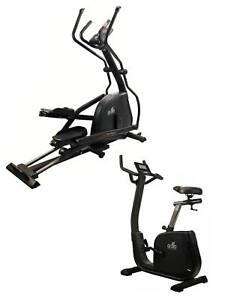 GO30 ADVANCE 2.0 CROSS TRAINER AND EXERCISE BIKE HOME GYM PACKAGE