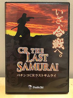 CR THE LAST SAMURAI PACHINKO JAPANESE PROMO DVD & PLAYER GUIDE BOOK RARE DAIICHI