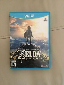 Zelda Breath of the Wild (Wii u)