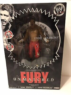 WWE Unmatched Fury Eddie Guerrero Wrestling Action Figure New In Box Sealed WWF