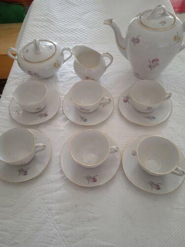 Korok porcellana Servizio da caffè per sei persone