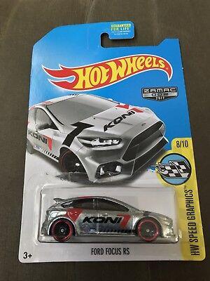 2017 Hot Wheels *  Zamac * Ford Focus RS Walmart HTF