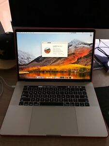 15-inch 2017 MacBook Pro with Touch Bar 256GB