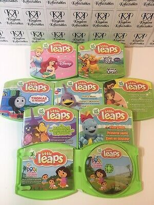 LeapFrog Baby - Little Leaps DVDs Lot Of 8 - Great Condition - Canadian Seller