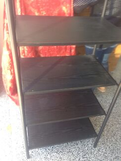 Black shelving/TV unit Alderley Brisbane North West Preview