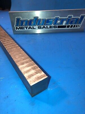 A6 Tool Steel 1 X 1 X 12-long--1 Tool Steel Mill Stock Air Hardening Dcf