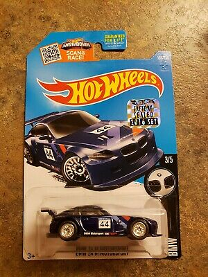 HOT WHEELS SUPER TREASURE HUNT BMW Z4 M MOTORSPORT FACTORY SEALED W/Protecto NIP