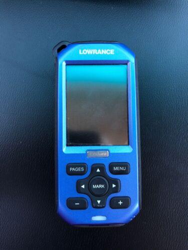 Lowrance Endura Sierra Handheld GPS (used) Free Ship