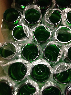 100 Bulk Pack 24 Ounce Green Water Bottles USA Made