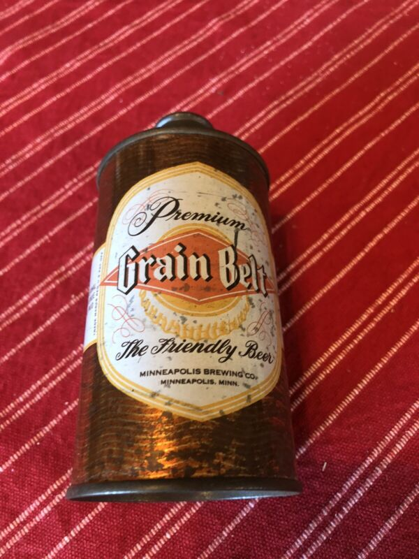 Grain Belt Premium Cone Top Beer Can Old nice! Free Shipping