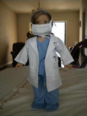Doctor's Uniform Costume  fits 18